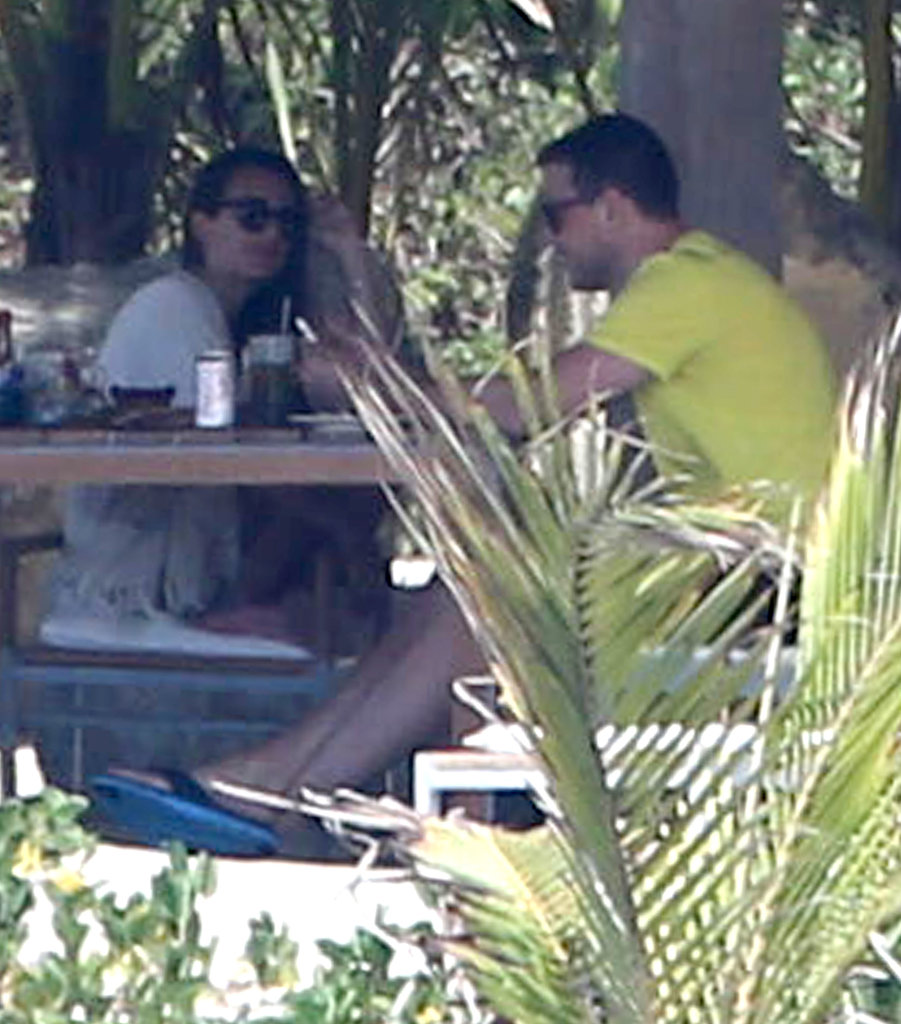 Lea Michele and Cory Monteith went on a getaway to Mexico.