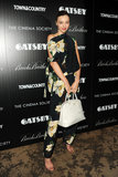 Miranda Kerr attended a screening of The Great Gatsby in NYC.