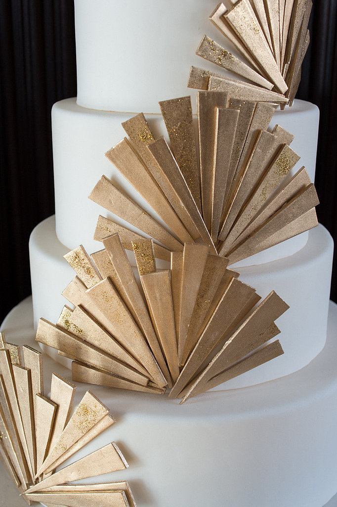Art Deco Cake Weddings Through the Decades: Roaring  20s ...
