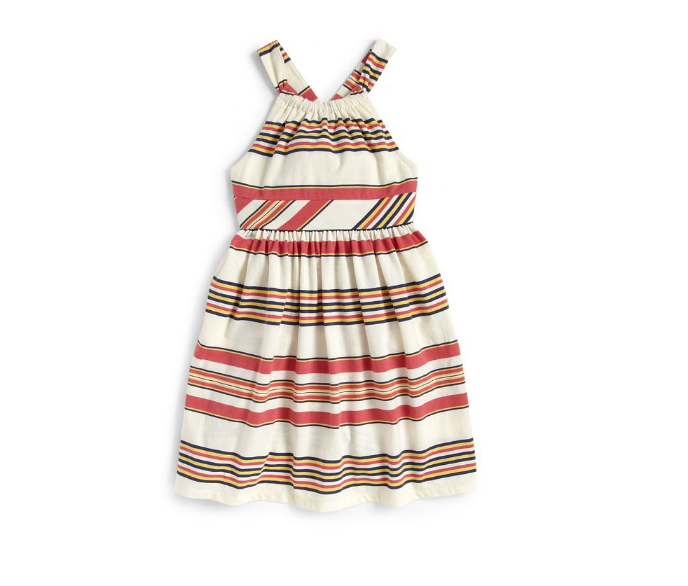 This retro striped dress ($45) by Ralph Lauren is casual and cute — the perfect Summer staple.