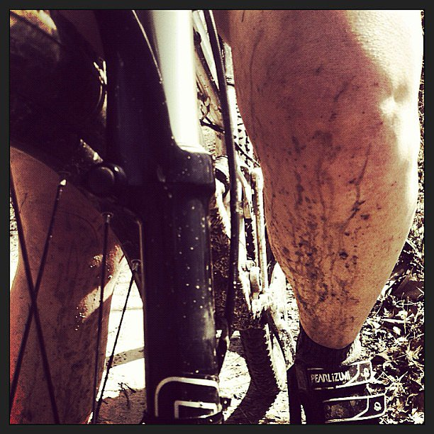 Mountain bikes + mud = a combo we can get behind! Source: Instagram user freneticfitness