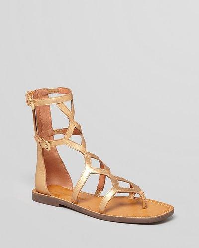 Luxury Rebel Gladiator Sandals - Kendall High
