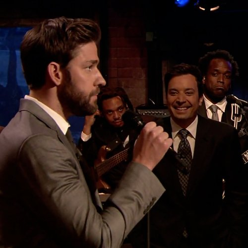 John Krasinski and Jimmy Fallon Lip Sync | Video