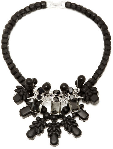 Ek Thongprasert Exclusive to M'O - Black & Silver Dagger Necklace