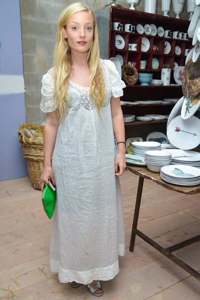 Kate Foley at the Astier de Villatte by John Derian event in New York. Source: Madison McGaw/BFAnyc.com