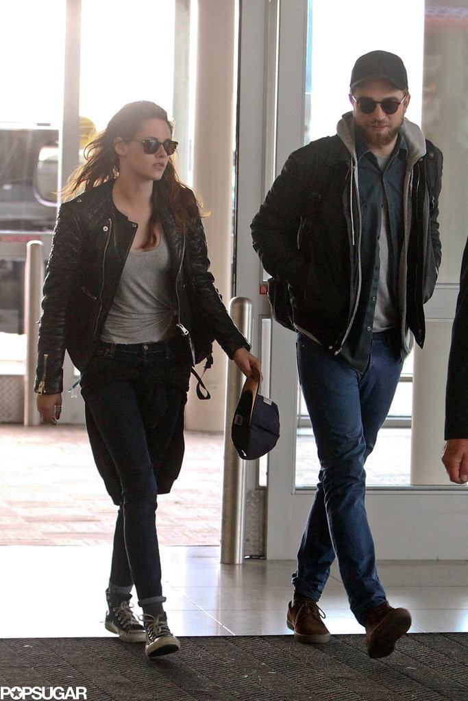 Robert Pattinson and Kristen Stewart traveled out of NYC together.