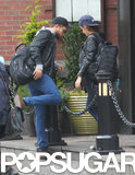 Robert Pattinson and Kristen Stewart left their NYC hotel.