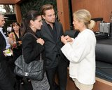 Leonardo DiCaprio mingled with friend Courteney Cox at an event in Malibu back in June 2011. Source: Billy Farrell/BFAnyc.com