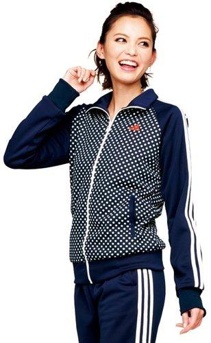 ドットジャージ(adienergyウォームアップジャケット)/アディダス(adidas)