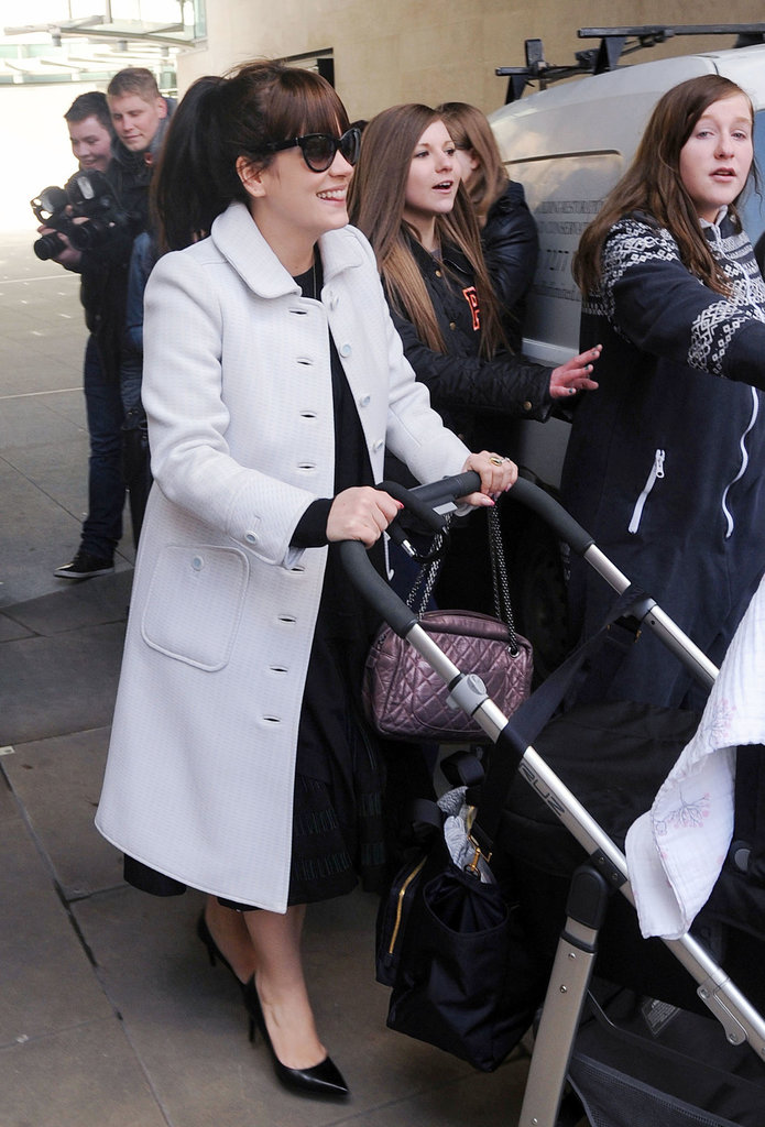 Lily Allen gave birth to her daughter Marnie Cooper in January 2013. The baby girl joins older sister Ethel.