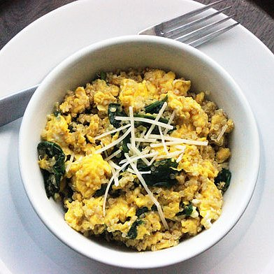Quinoa Egg Scramble Recipe