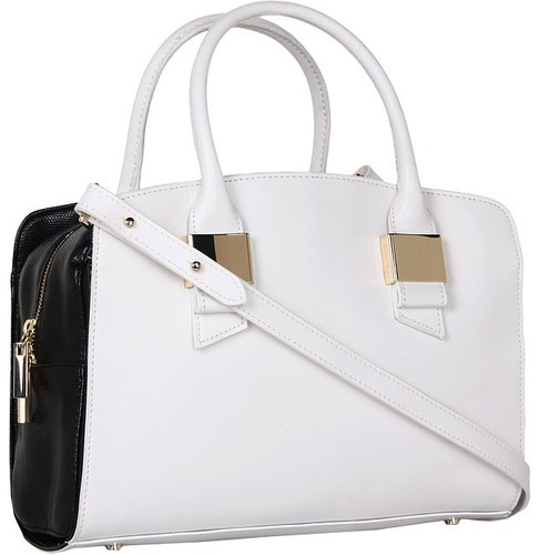 Ivanka Trump - Blair Satchel (Black) - Bags and Luggage