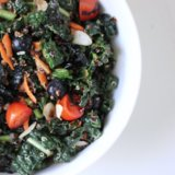 Sesame Ginger Kale and Quinoa Salad Recipe