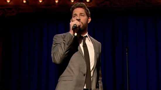 Video: John Krasinski's Lip Sync, Chris Pine's Fight Face, Plus More Viral Videos!