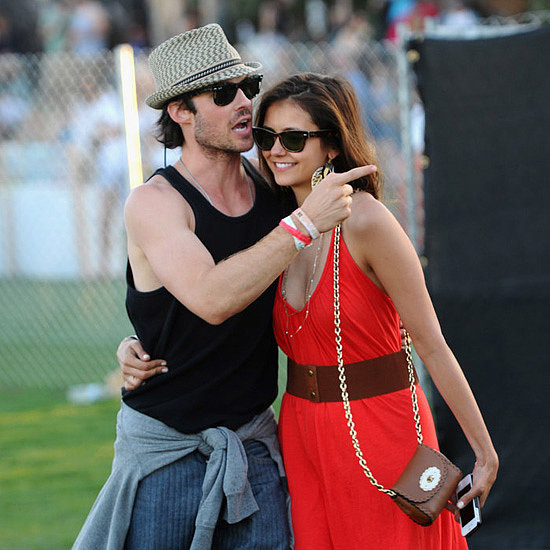 Nina Dobrev and Ian Somerhalder's Relationship in Pictures