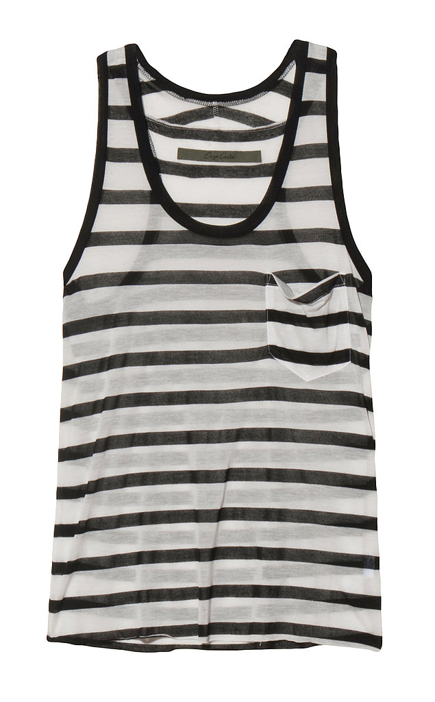 As we head into Summer, a gauzy tank is about to become invaluable. Fortify your collection with Enza Costa's lightweight stripes ($138).