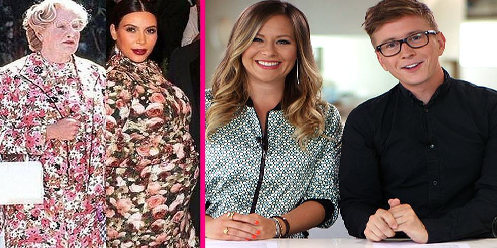 Top That! Kim Kardashian in Floral, Mama June in Camo, and More