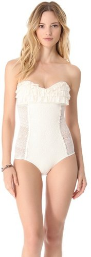 Juicy couture Prima Donna Ruffle Maillot
