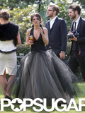 Shenae Grimes Marries — in a Black Dress!