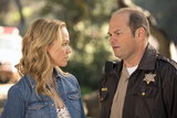 Lauren Bowles as Holly and Chris Bauer as Andy on True Blood.