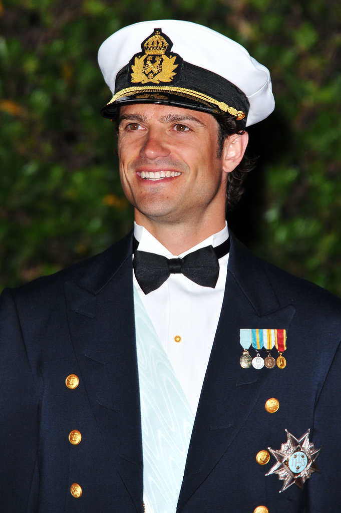 The prince wore his finest to the royal wedding of Prince Albert II of Monaco and Princess Charlene of Monaco in 2011.