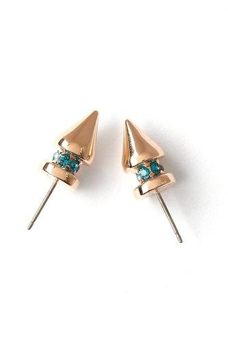 Mawi Pretty In Punk Small Spike Stud Earring