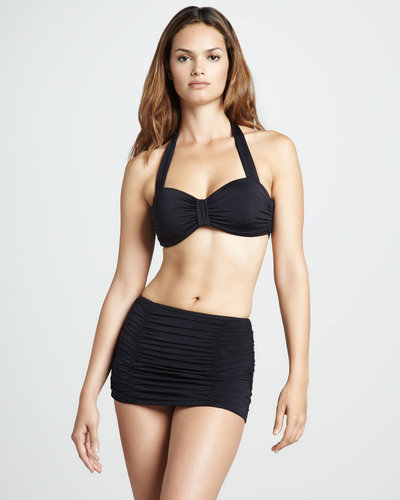 Vitamin A Skirted High-Waist Bottom