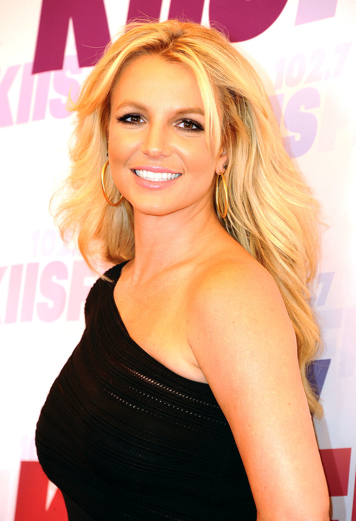 Britney Spears worked her stuff on the red carpet.