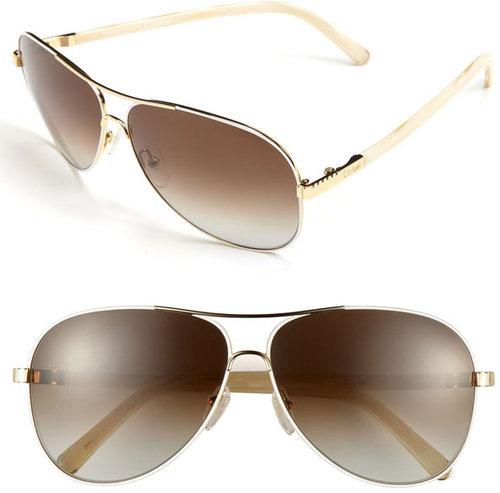 Chloe 61mm Aviator Sunglasses