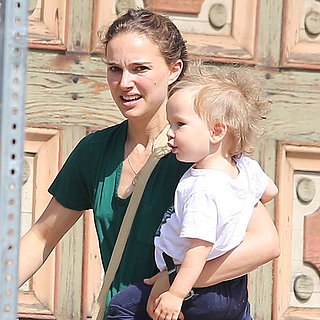 Natalie Portman With Son Aleph | Photos