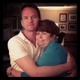 Neil Patrick Harris shared a hug with his mom on Mother's Day. Source: Instagram user instagranph