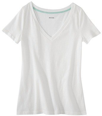 Mossimo Supply Co. Juniors Textured V-Neck Tee - Assorted Colors