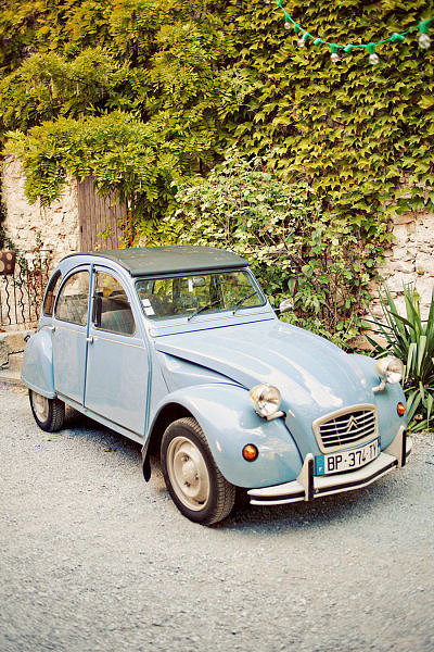 Vintage French Getaway Car