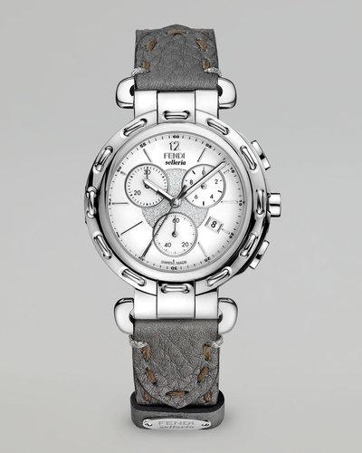 Fendi Selleria Stainless Steel Chronograph Watch Head