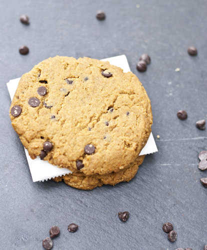 Single serving protein chocolate chip cookies