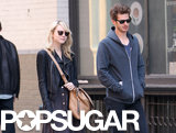 Emma Stone and Andrew Garfield walked together in NYC.