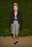 Jennifer Morrison attended the Vogue and MAC Cosmetics dinner.