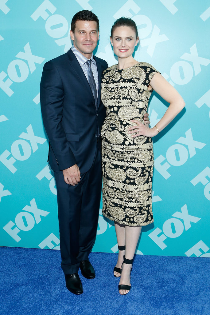 Bones costars David Boreanaz and Emily Deschanel joined forces.