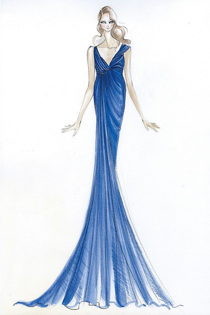 Donna Karan for Kate Middleton Source: courtesy of designer via WWD