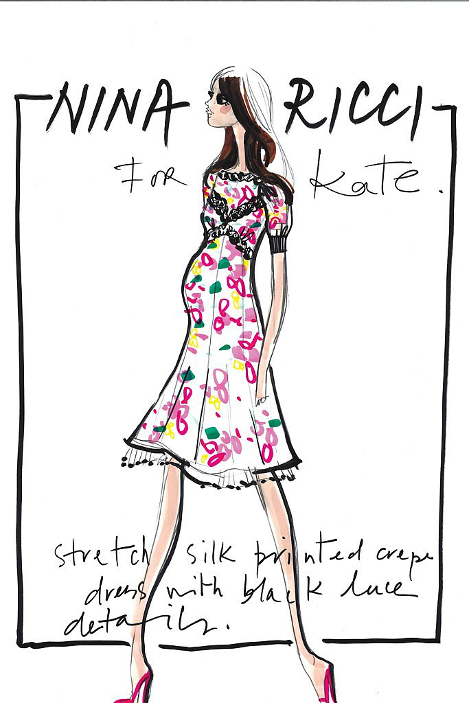 Nina Ricci for Kate Middleton Source: courtesy of designer via WWD