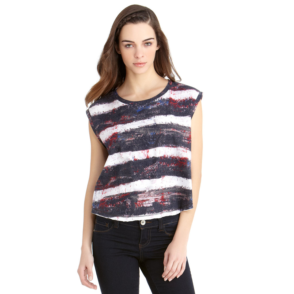 Rachel Roy's Cropped Swing Tee ($49) makes a great upscale basic.