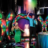 "Club Prom The Club Prom theme includes the ""Rock the Club"" electric archway and a ""Funkified"" fountain. Also, lots of glow-in-the-dark jewelry."