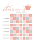 Cupcake Reward Chart