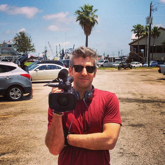 Cameraman/therapist extraordinaire Max Joseph got ready to shoot his MTV show, Catfish. Source: Instagram user maxjoseph