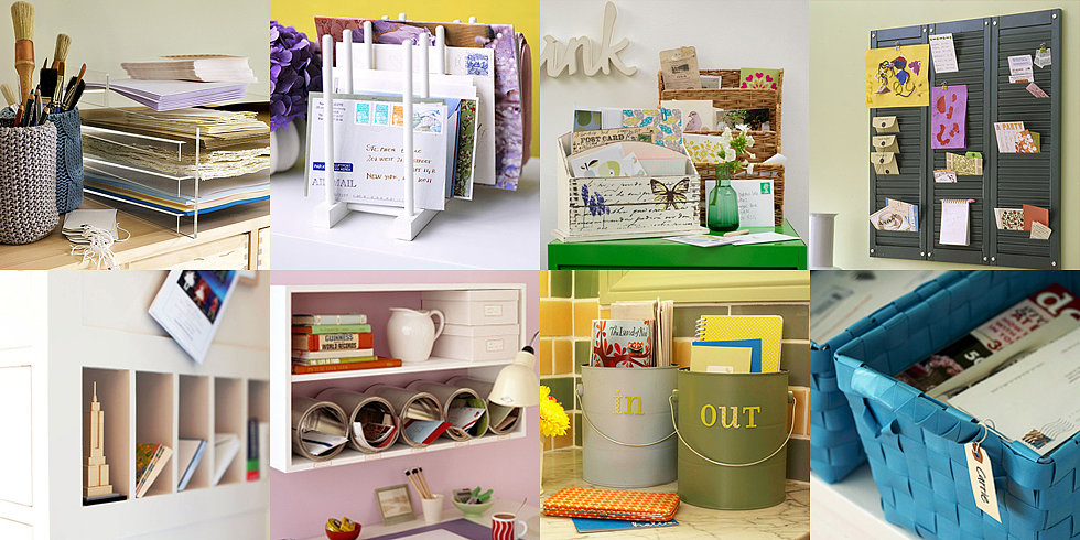18 Beautiful Ideas to Organize Mail