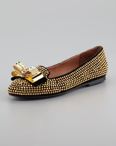 Jeffrey Campbell Martini Studded Ballerina Flat