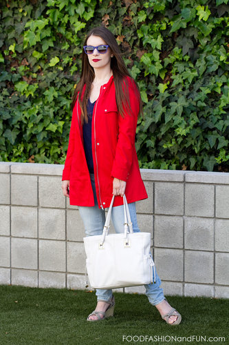 What to Wear . . . Red Jacket