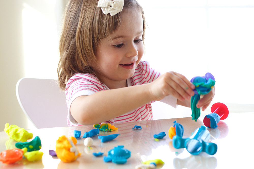 Colorful Playtime Dough