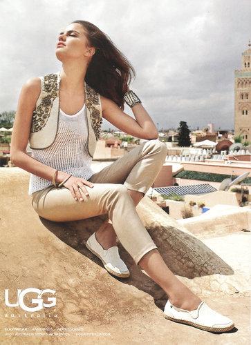 Brazilian Model Barbara Fialho For UGG