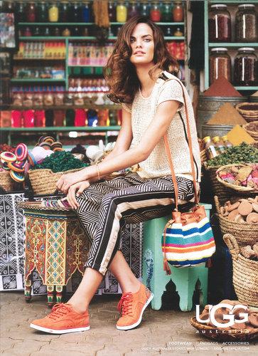 Supermodel Barbara Fialho For UGG
